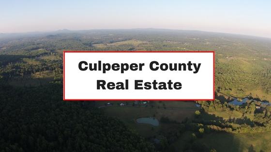 culpeper county real estate