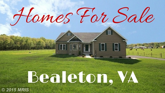 Bealeton Va Real Estate