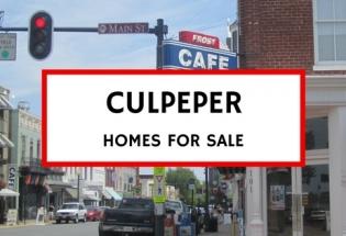 culpeper va homes for sale