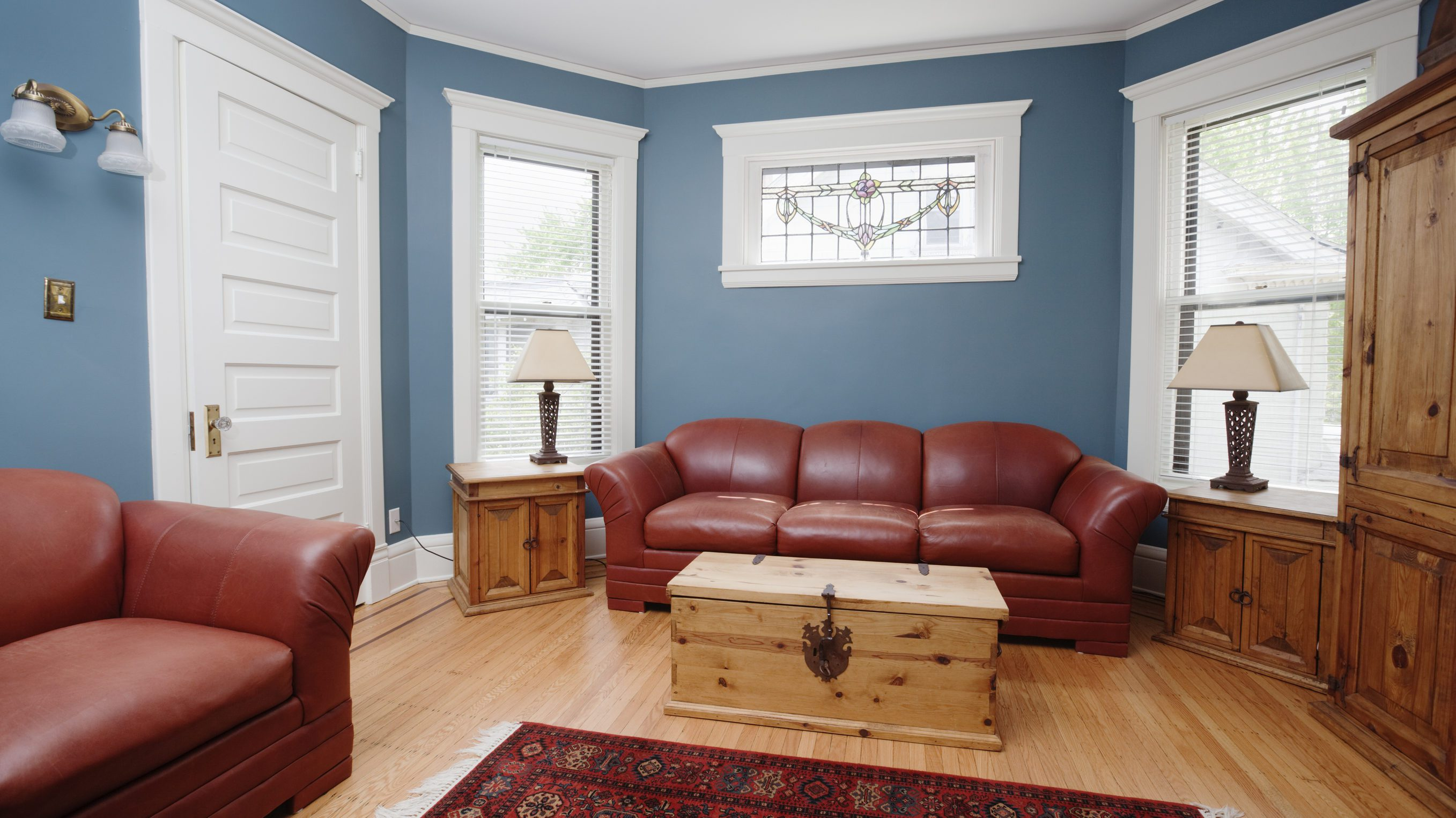 Southwest Style Living Room Furniture in a Traditional ...