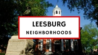 leesburg va neighborhoods subdivisions