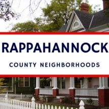 rappahannock county neighborhoods
